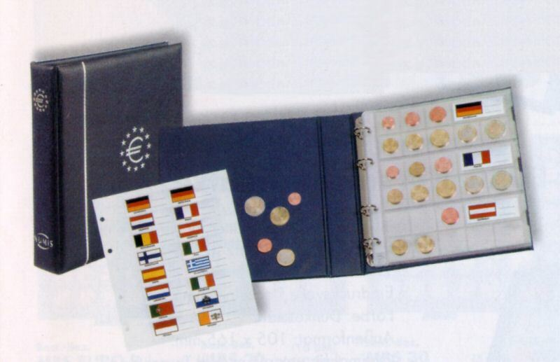 Euro Coin Album Numis