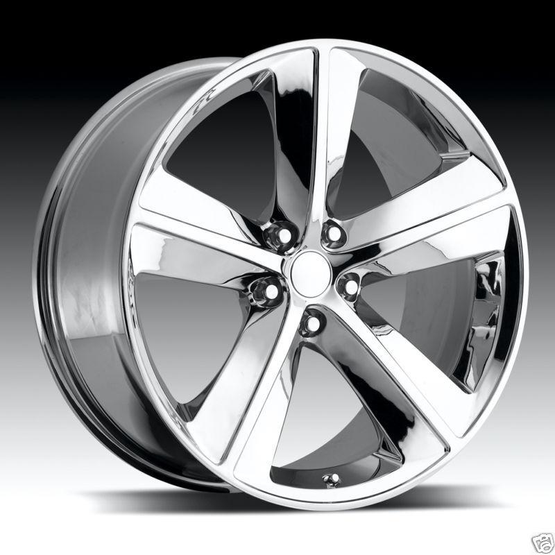 20 Dodge Challenger SRT8 Charger Wheel Rim Tire Chrome