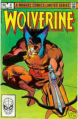 Wolverine (lim.series) # 4 (of 4) (Frank Miller) (USA, 1982)